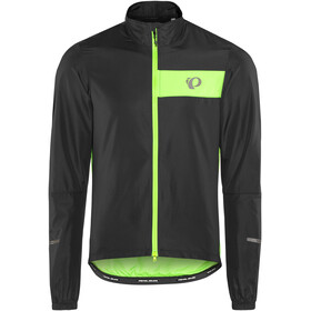 PEARL iZUMi Select Barrier Jacket Men black/screaming green
